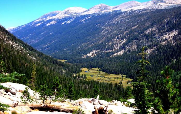 Lyell River Tuolumne Yosemite