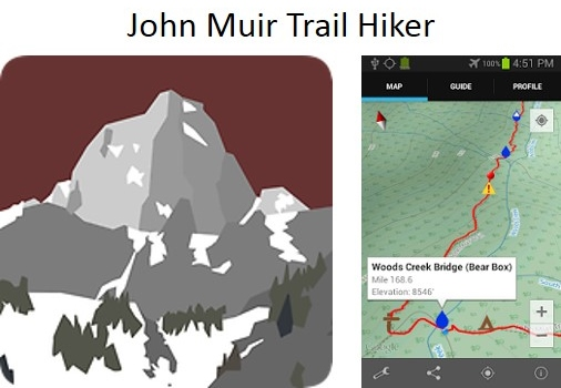 John Muir Trail Mobile Apps